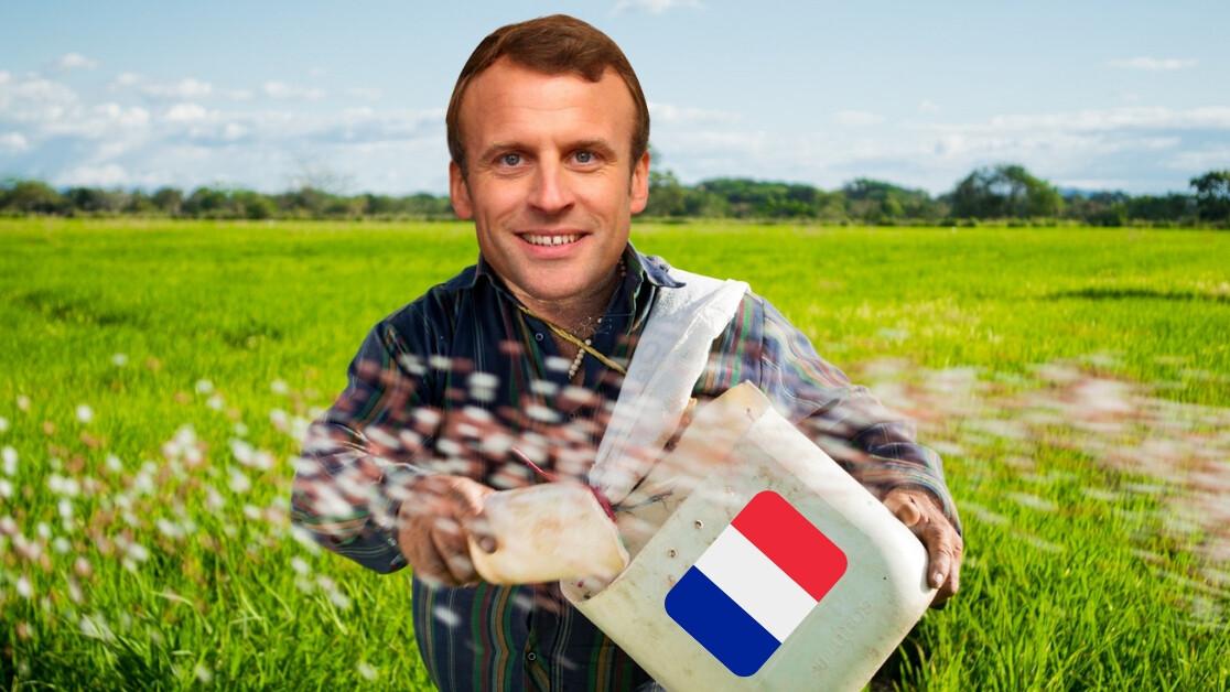 Alors Monsieur Macron, stop trying to make la chaîne de blocs happen