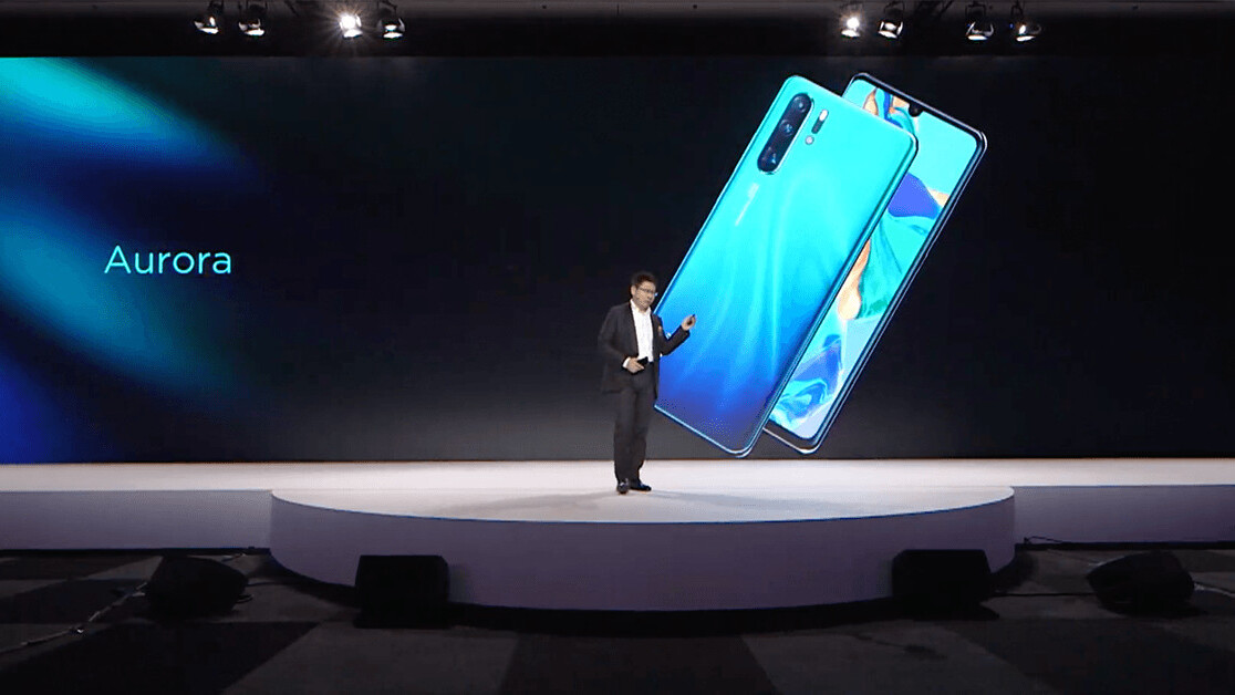 Huawei announces the P30 and P30 Pro – here are the beefy specs
