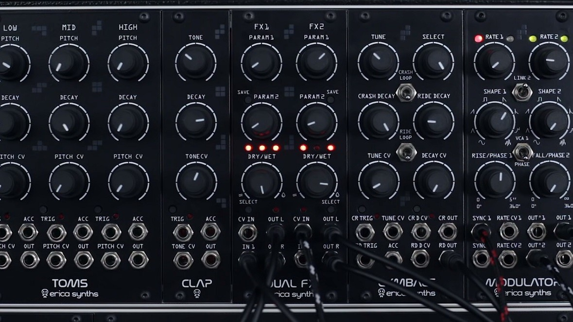 Analog synths are the perfect instrument for people who took all their toys apart