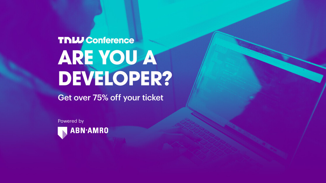 Developers can attend TNW2019 for just €149