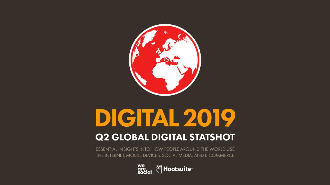 Q2 Digital Statshot 2019: TikTok peaks, Snapchat grows, and