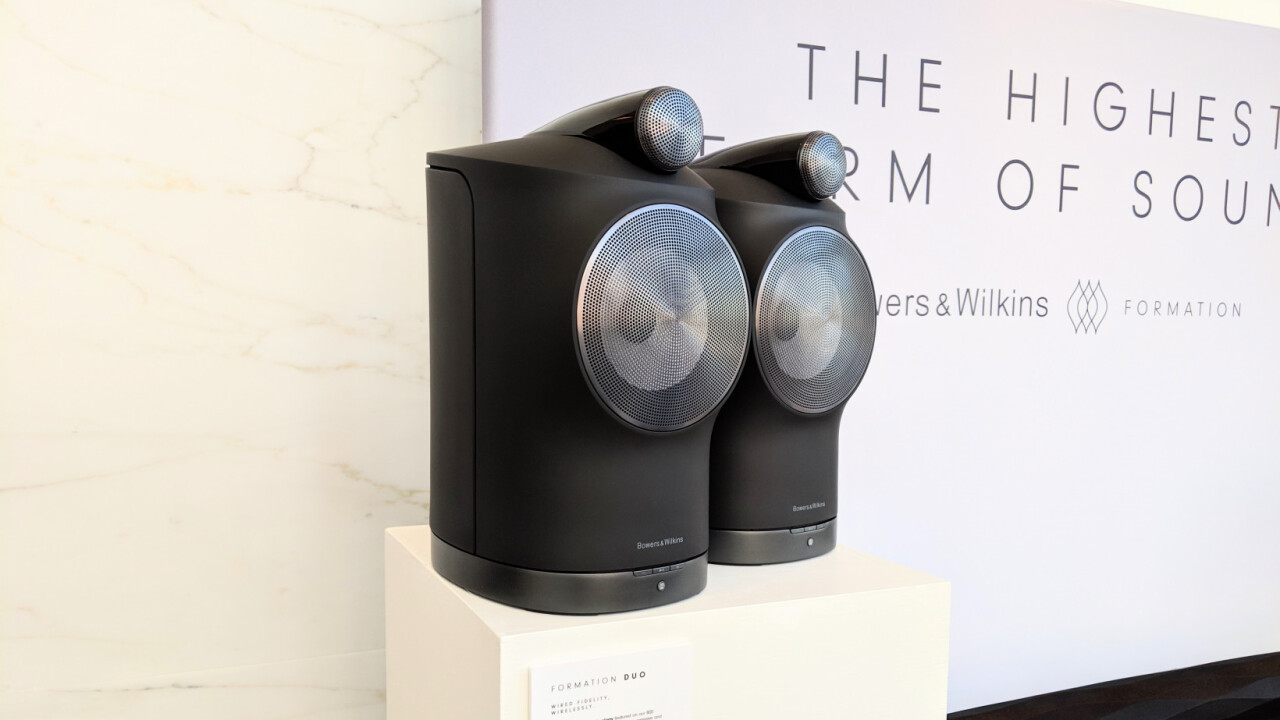 Bowers and Wilkins Formation Hands-on: If Sonos made $4,000