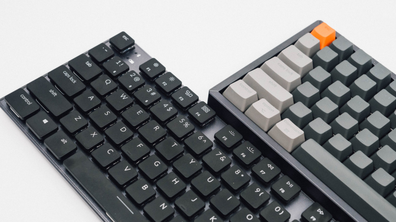 1486b71b6a6 Review: The Keychron K1 and K2 are the wireless mechanical keyboards ...