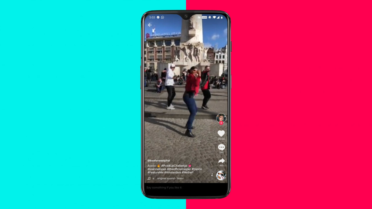 A TikTok bug let hackers take over your account just through a text