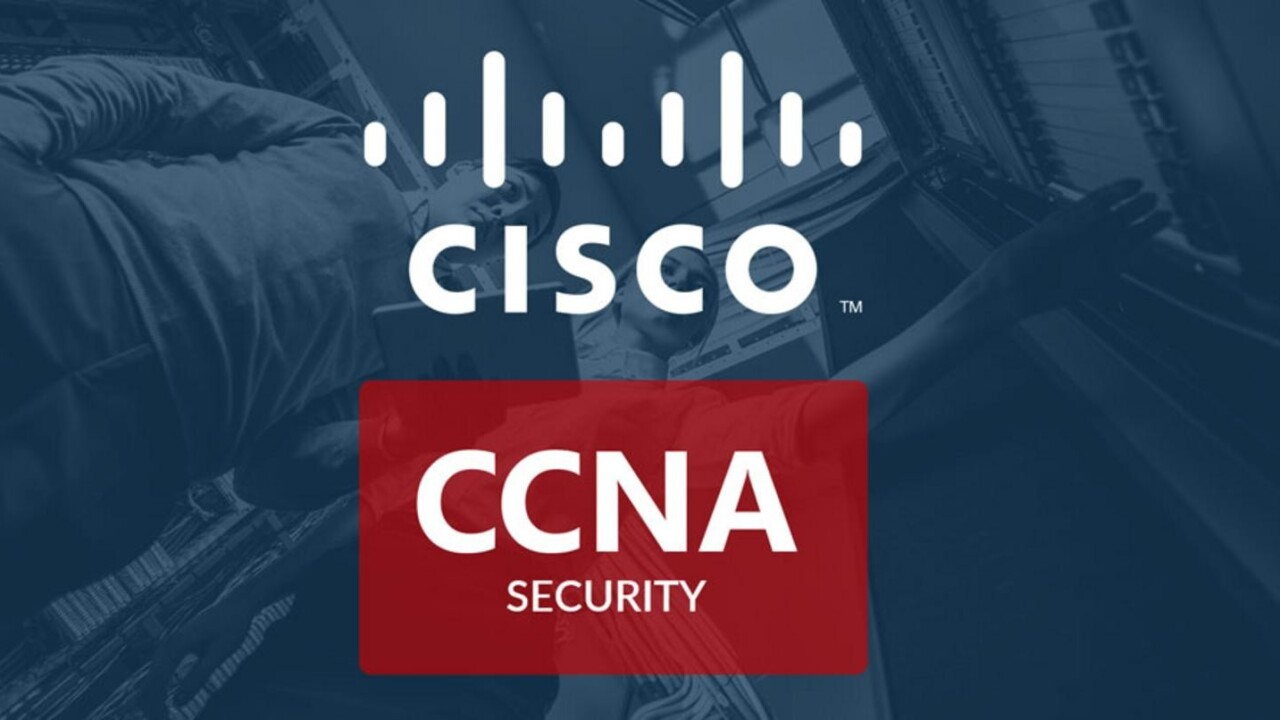 This $29 Cisco CCNA training can help raise your earning potential