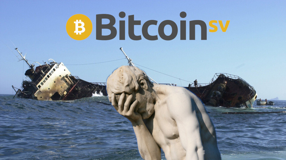 BitcoinSV's blockchain is struggling with its enormous 128MB blocks