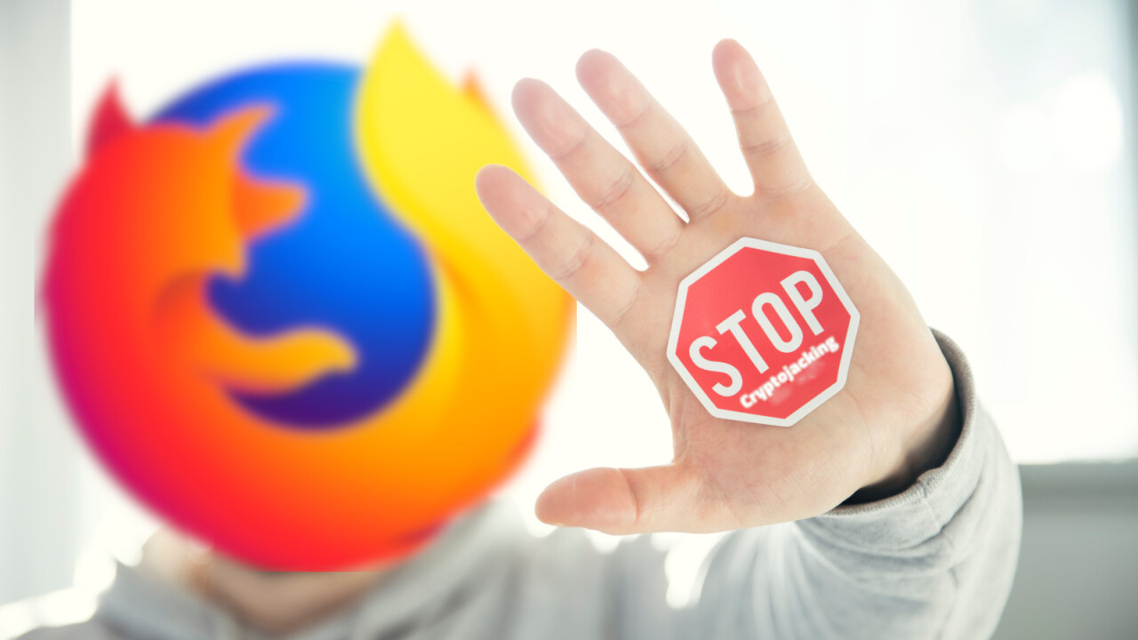 Mozilla rolls out new automated crypto-jacking filtering in