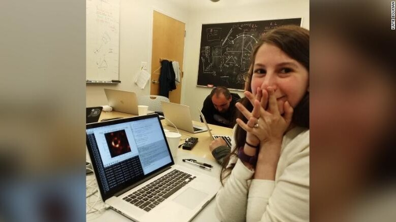 Parasites keep impersonating black hole researcher Dr. Katie Bouman on Twitter
