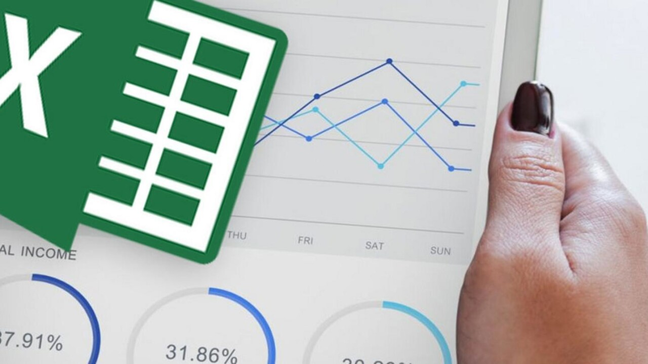 Earn an accredited Excel certification with this $50 data analyst training