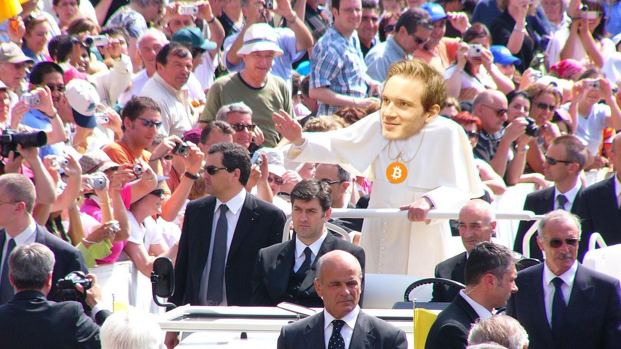 PewDiePie to give $50K via blockchain app that deplatformed Alex Jones
