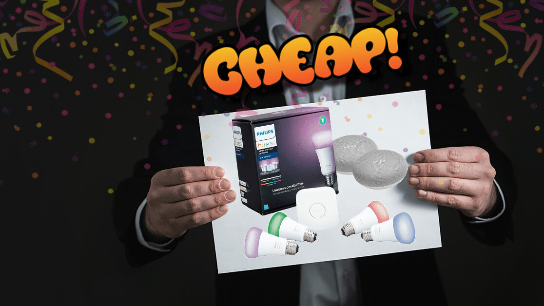 CHEAP: $128 off a Philips Hue starter kit to get Star Trek-style smart lights