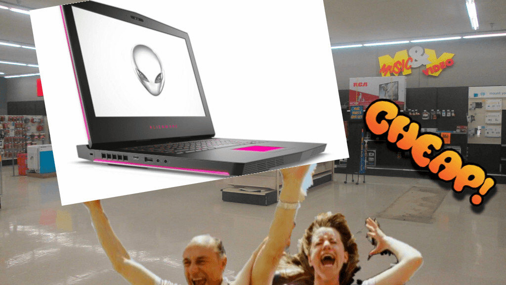 CHEAP: Get $1,500 (!!!) off this monster Alienware 15 laptop