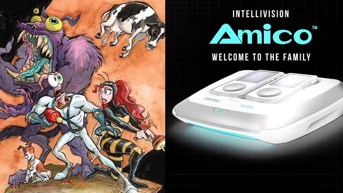 Earthworm Jim 3 releases exclusively on retro console Intellivision Amico