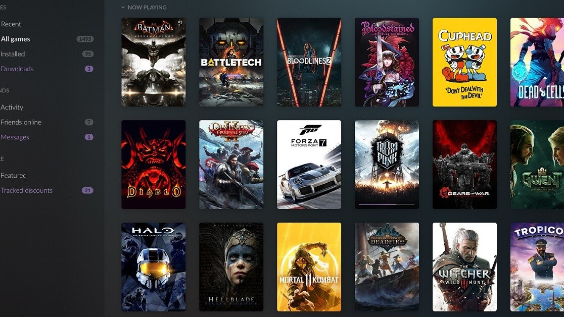 GOG relaunches Galaxy as a universal PC gaming hub