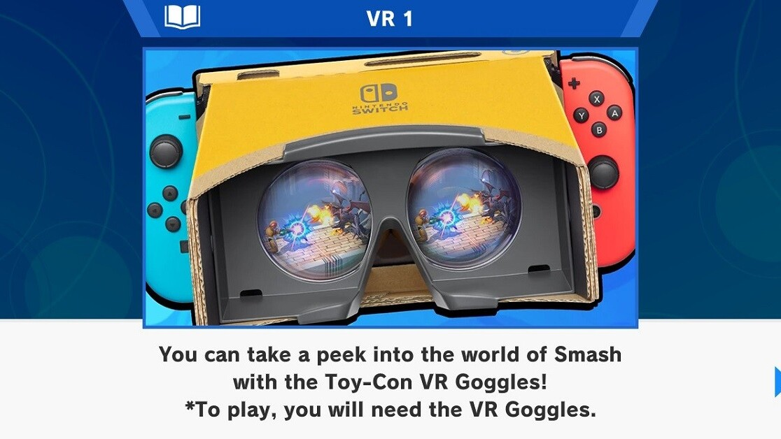 You can now play Smash Bros Ultimate in VR… kinda