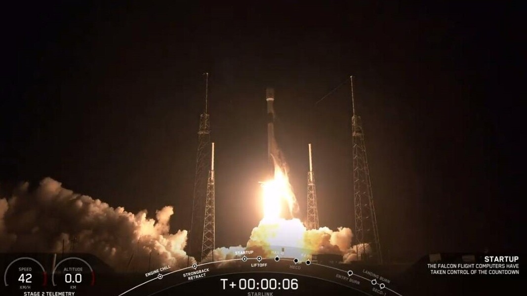 SpaceX successfully launches 60 of its Starlink internet satellites