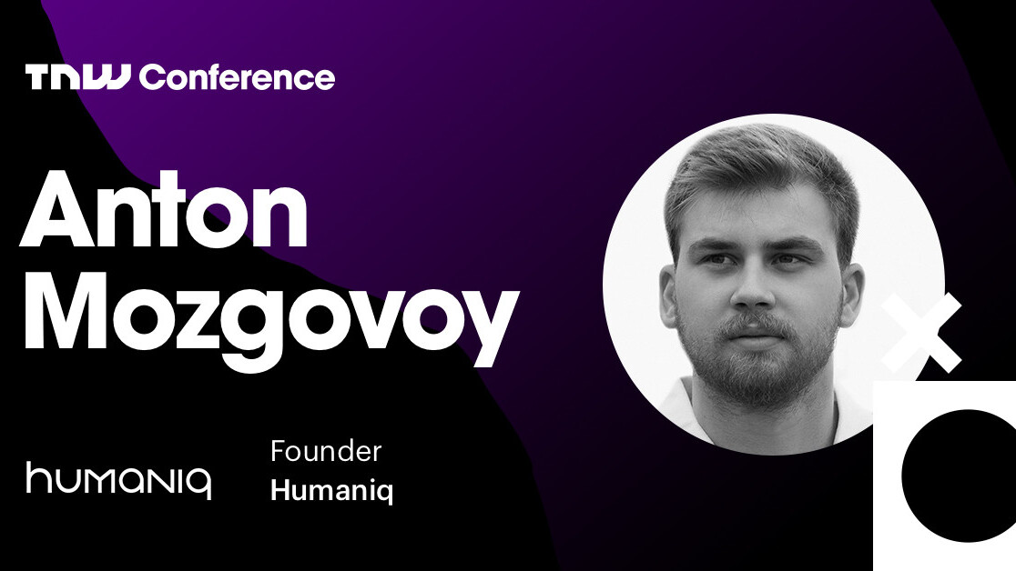 Humaniq's Anton Mozgovy is live at TNW2019 – tune in now!