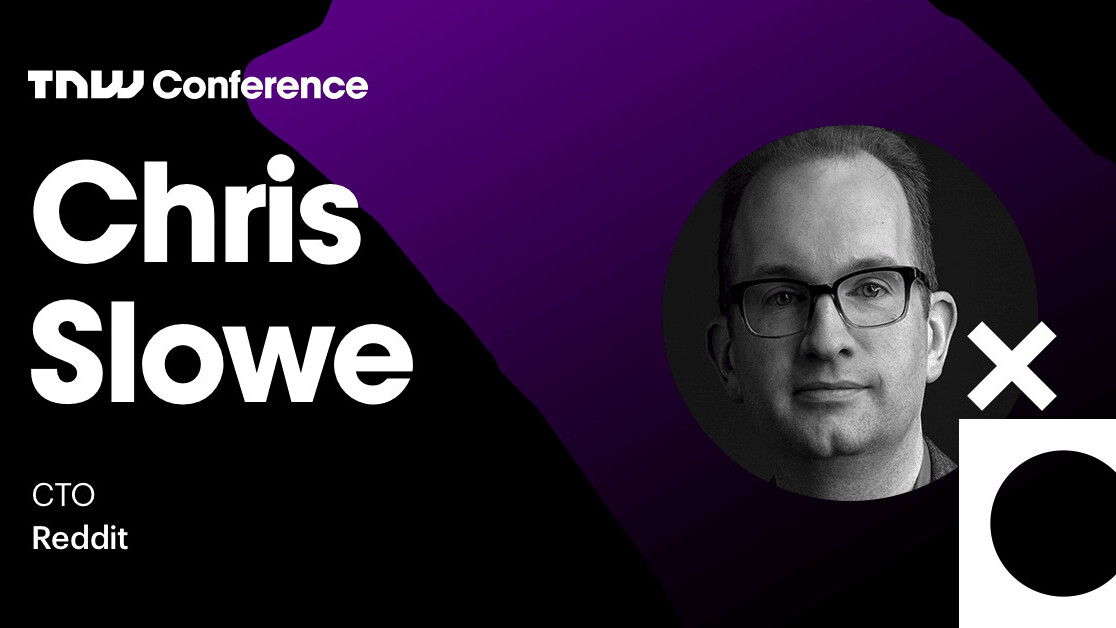 Reddit's Chris Slowe is live at TNW2019 – tune in now!