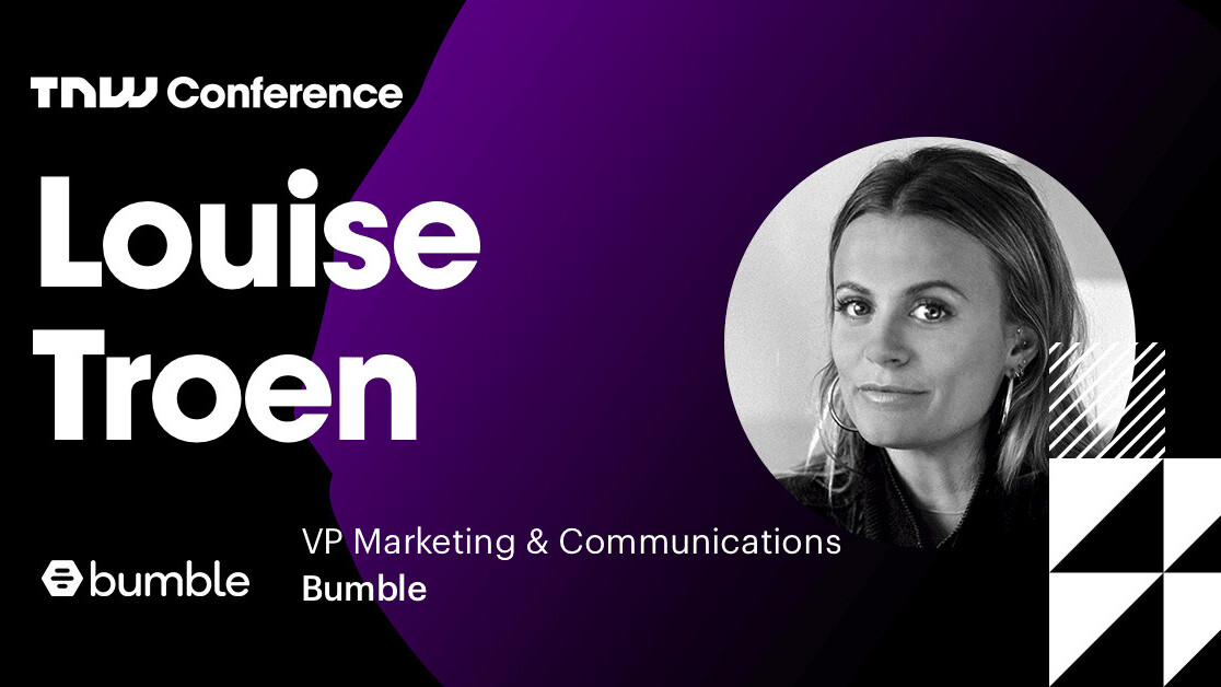 Bumble's Louise Troen is live at TNW2019 – tune in now!