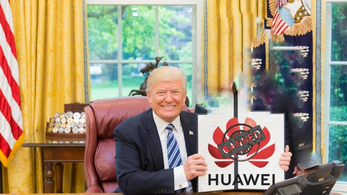 Image result for huawei trump