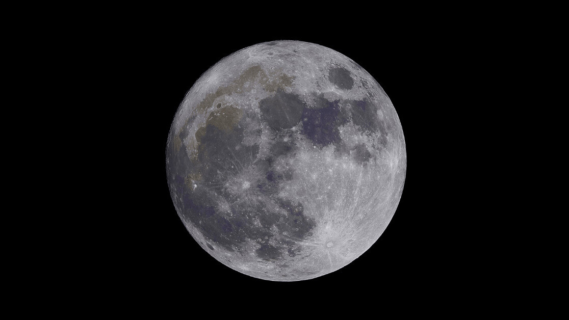 How did the moon end up where it is?