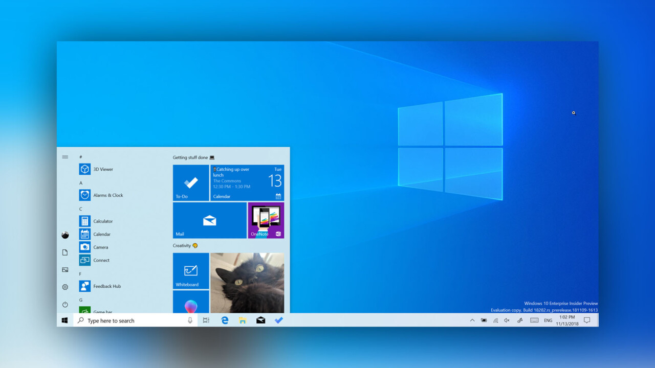 Microsoft's Windows 10 May 2019 Update is now out, new 'Light' theme included