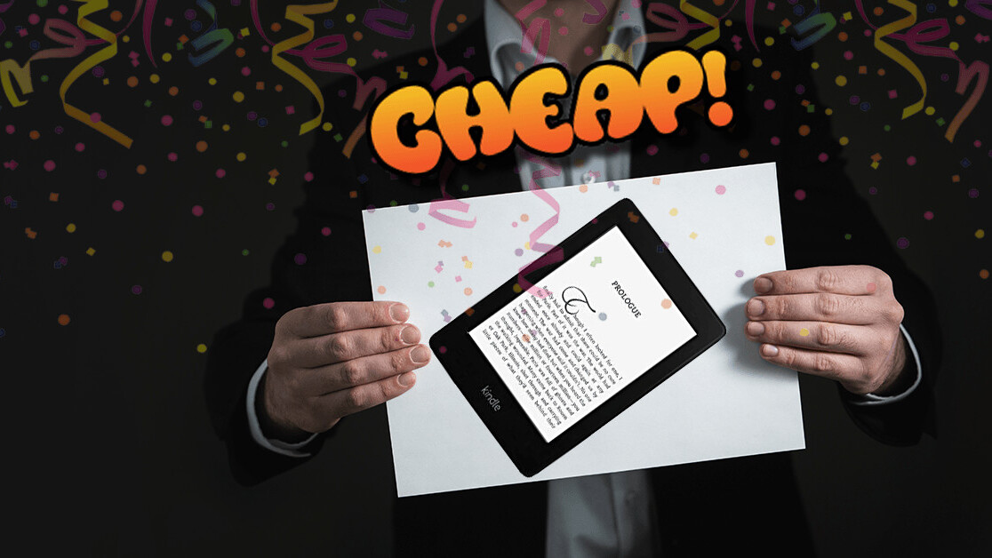 CHEAP: Bathe in books with 31% off the waterproof Kindle Paperwhite