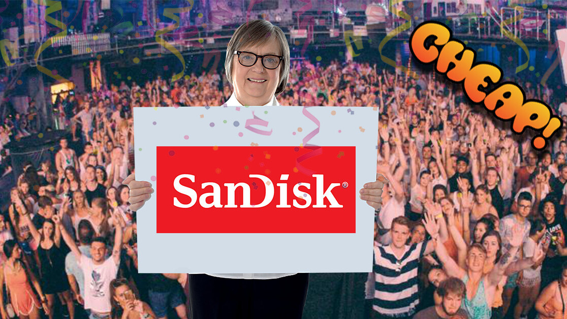 CHEAP: Savor this abundance of succulent SanDisk storage savings