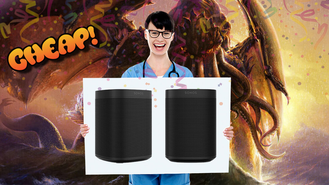 CHEAP: Irritate the ancient with 25% off a pair of Sonos One speakers