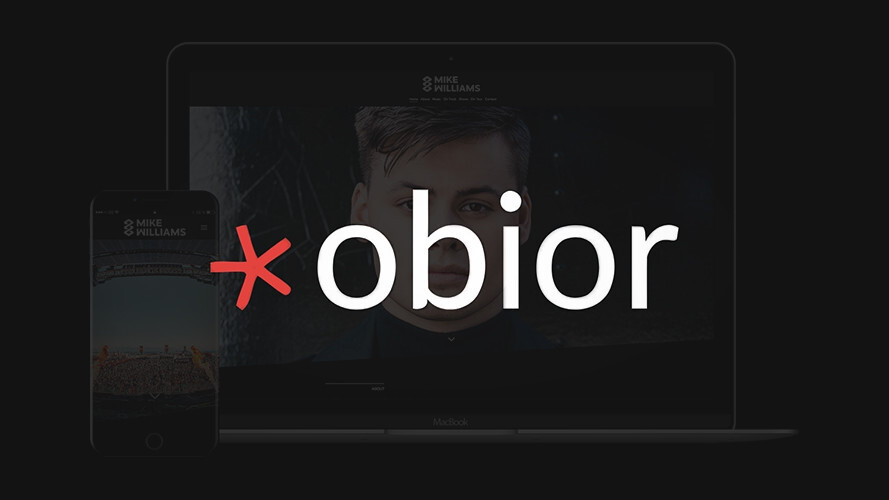 Obior lets you create and host a website in minutes—and for just $20/year
