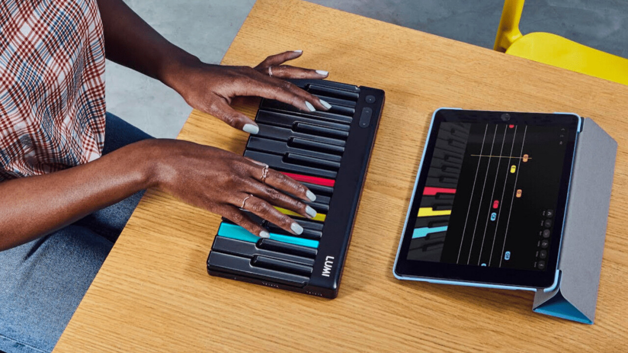 Roli's Lumi is an advanced light-up keyboard that makes