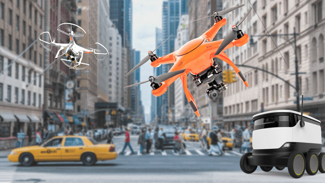 "Can delivery Drones and Robots make it in ""the last mile""?"