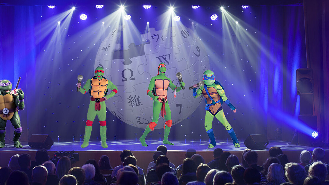 Wikipedia titles you can sing to the 'Teenage Mutant Ninja Turtles' theme song, tweeted