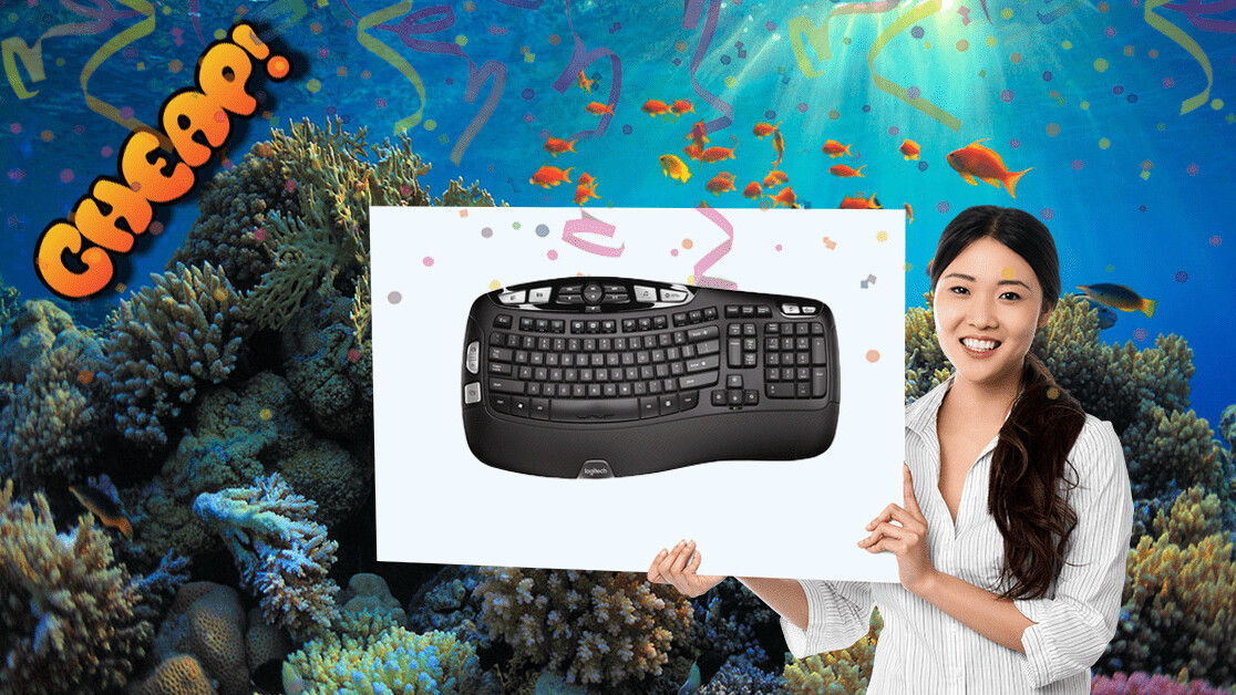 CHEAP: Get comfy with Logitech's wireless keyboard at 42% off