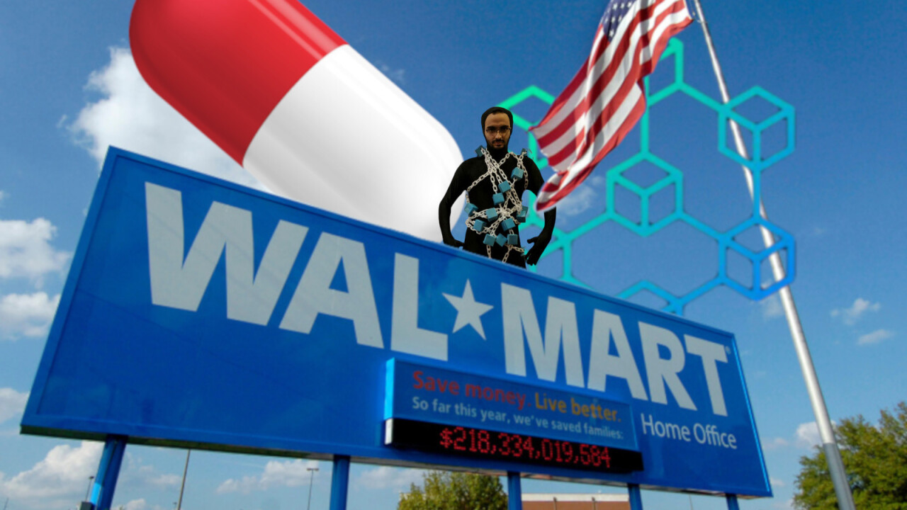 Walmart teams up with Big Pharma to track drugs on the blockchain
