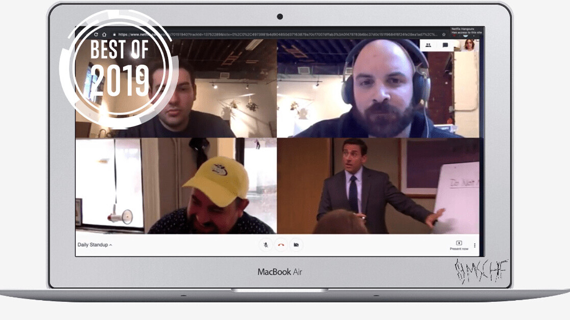 [Best of 2019] This clever Chrome extension camouflages Netflix in a conference call