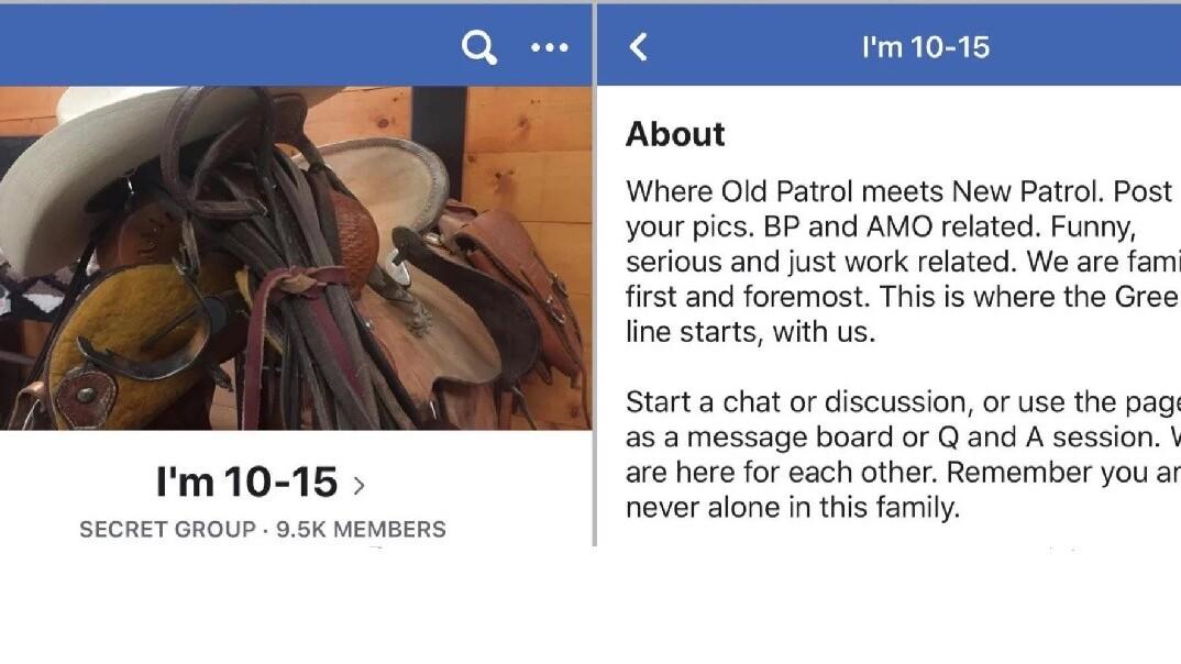 Secret US Border Patrol hate group exposed on Facebook