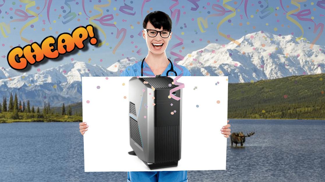 CHEAP: Get $530 off an Alienware Aurora desktop computer
