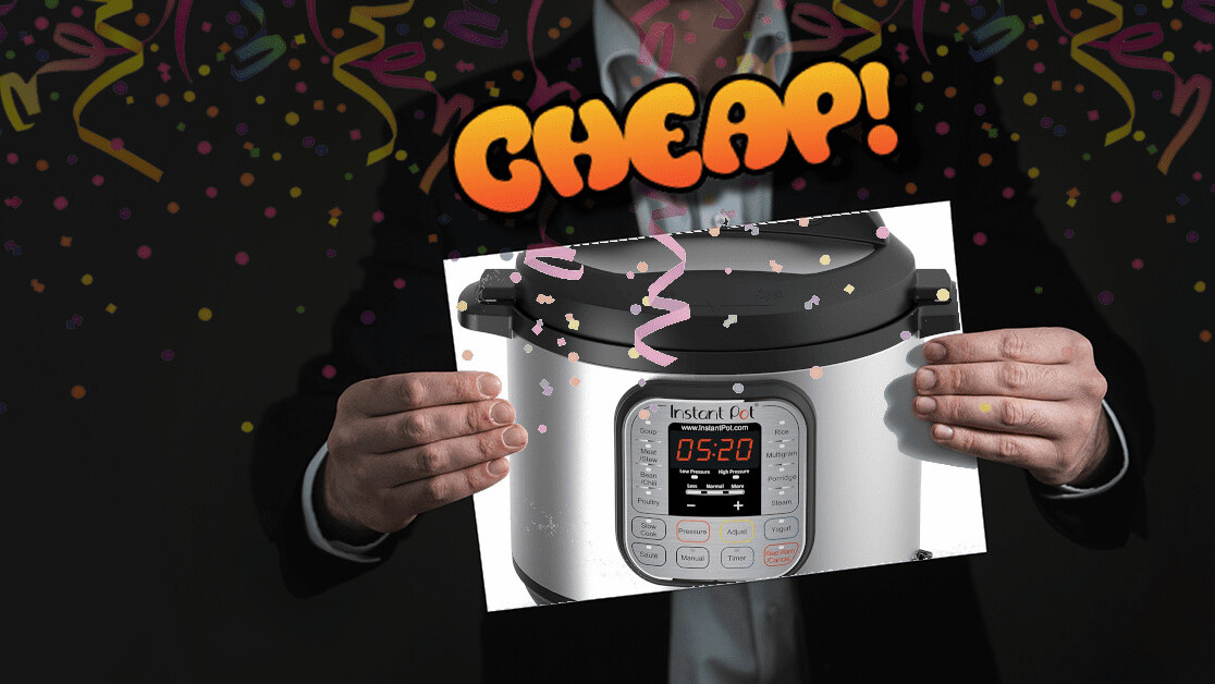 CHEAP: At $60, the Instant Pot is at its lowest price ever