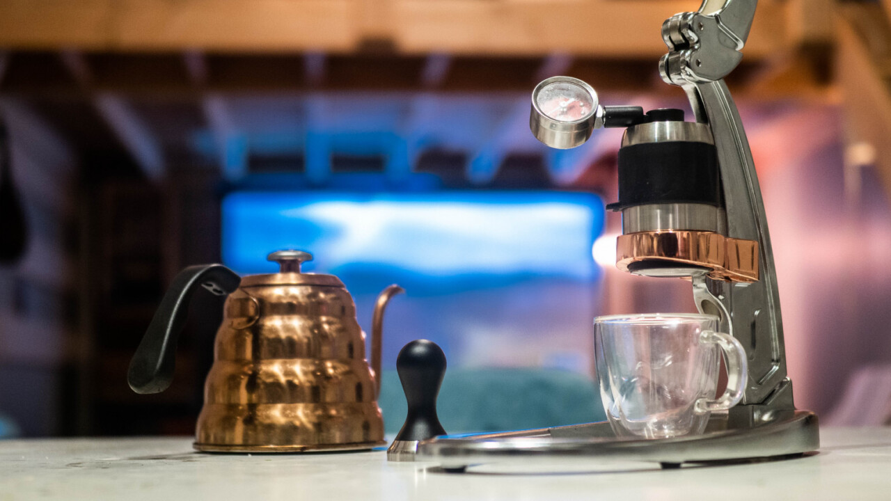 The Flair Signature Pro makes brewing delicious espresso easy, cheap, and portable