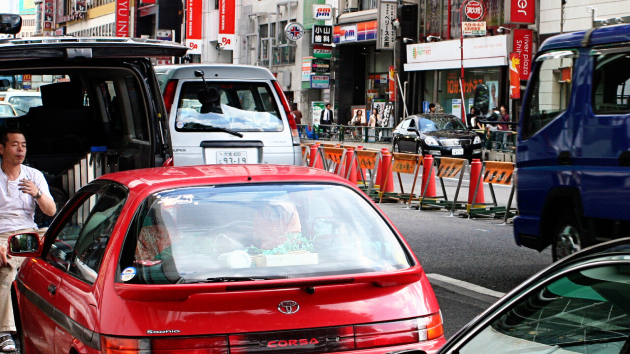 Japan is increasingly renting cars for everything except driving