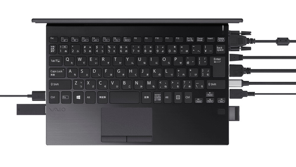 Vaio SX12 доказывает, что маленькие ноутбуки могут иметь все порты