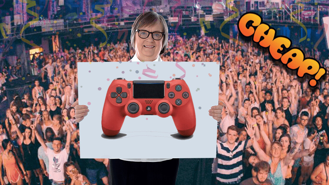 CHEAP: Paint the town red with 33% off Sony's DualShock 4 Wireless Controller