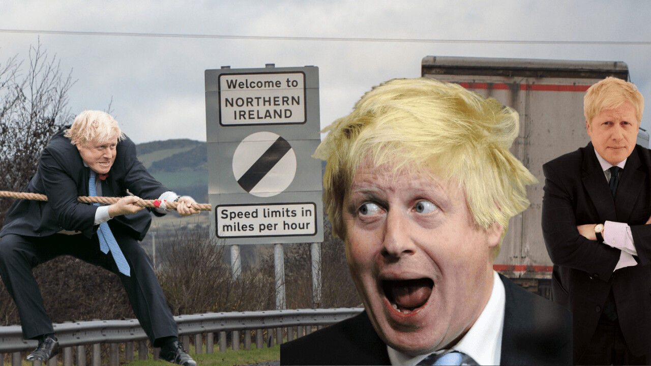 New UK PM Boris Johnson (still) thinks there's a tech solution for the Irish border