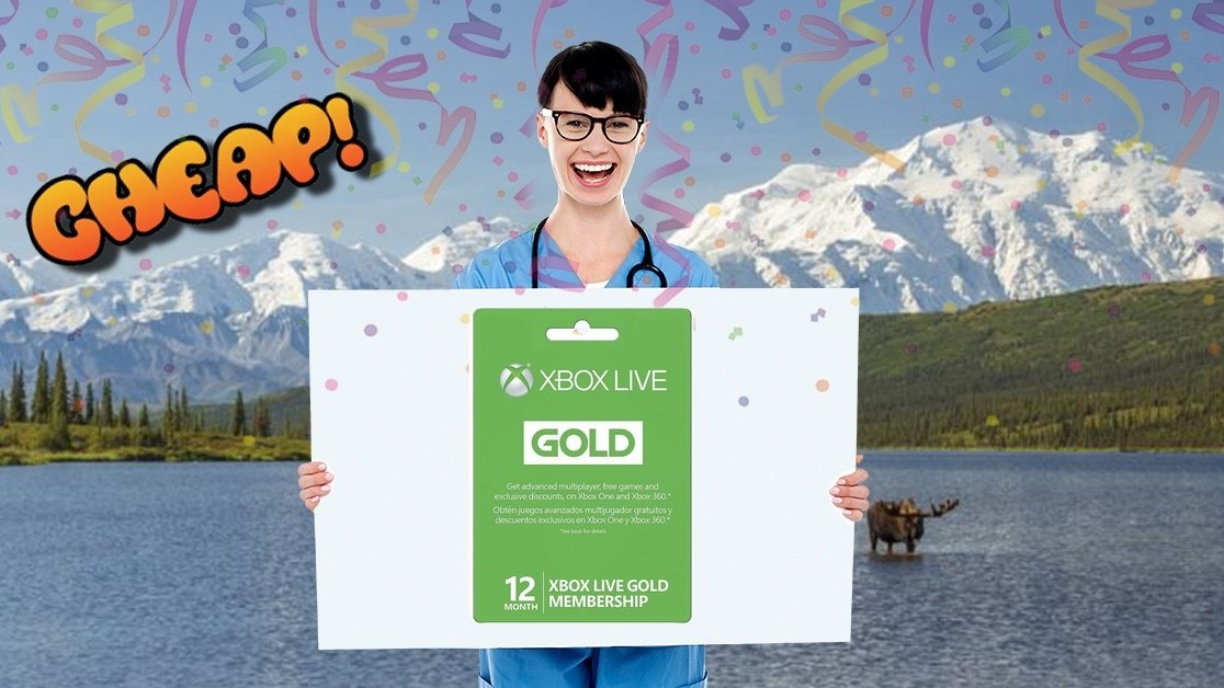 CHEAP: Get yelled at by teens on Xbox LIVE now a 12-month Gold