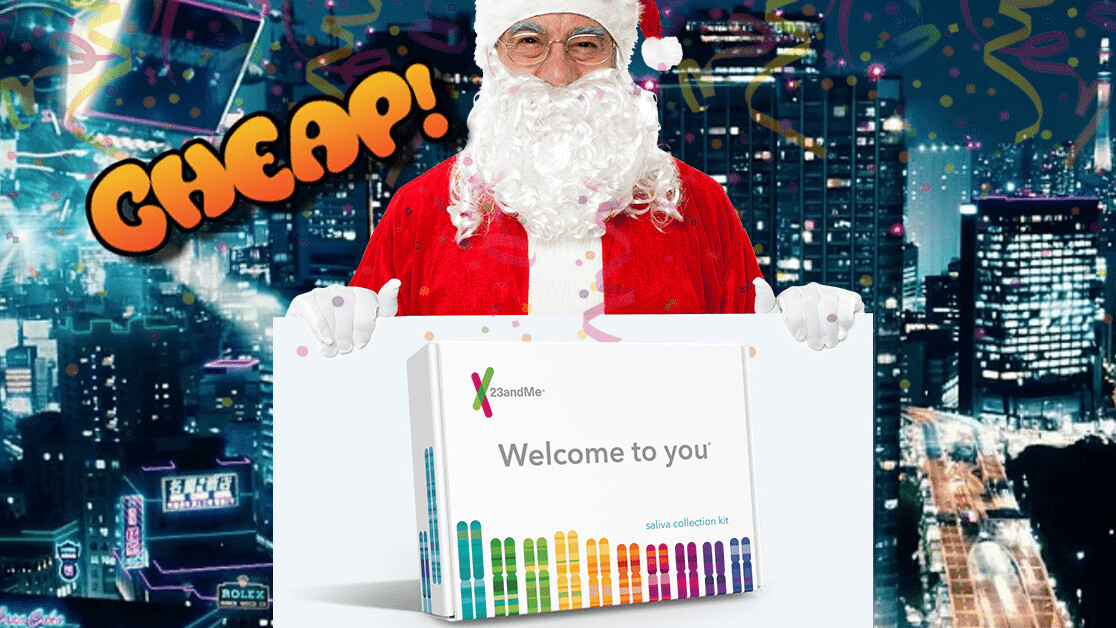 CHEAP: Trace your ancestry with $100 off a 23andMe DNA kit