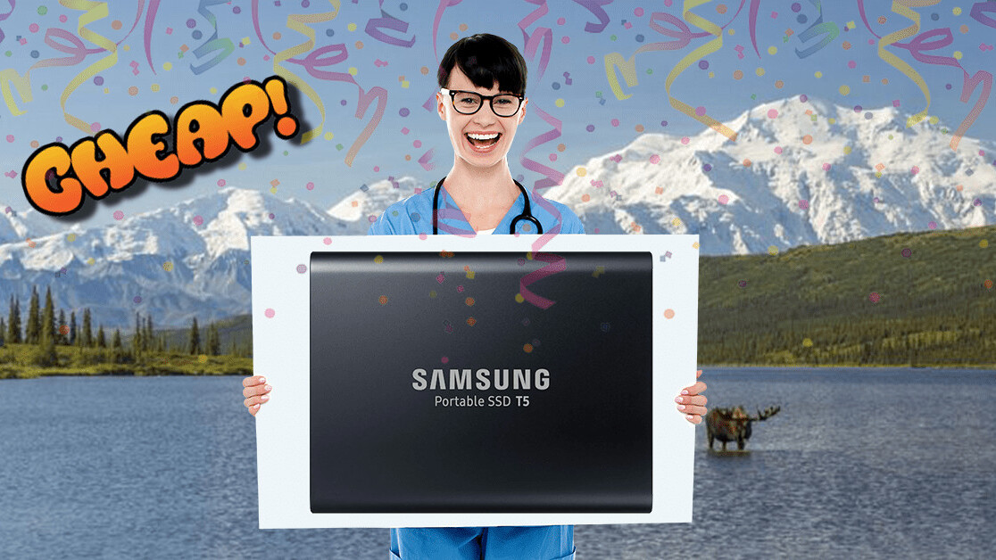 CHEAP: Save! Fast! With! $100 off! This Samsung! Portable 2TB SSD!