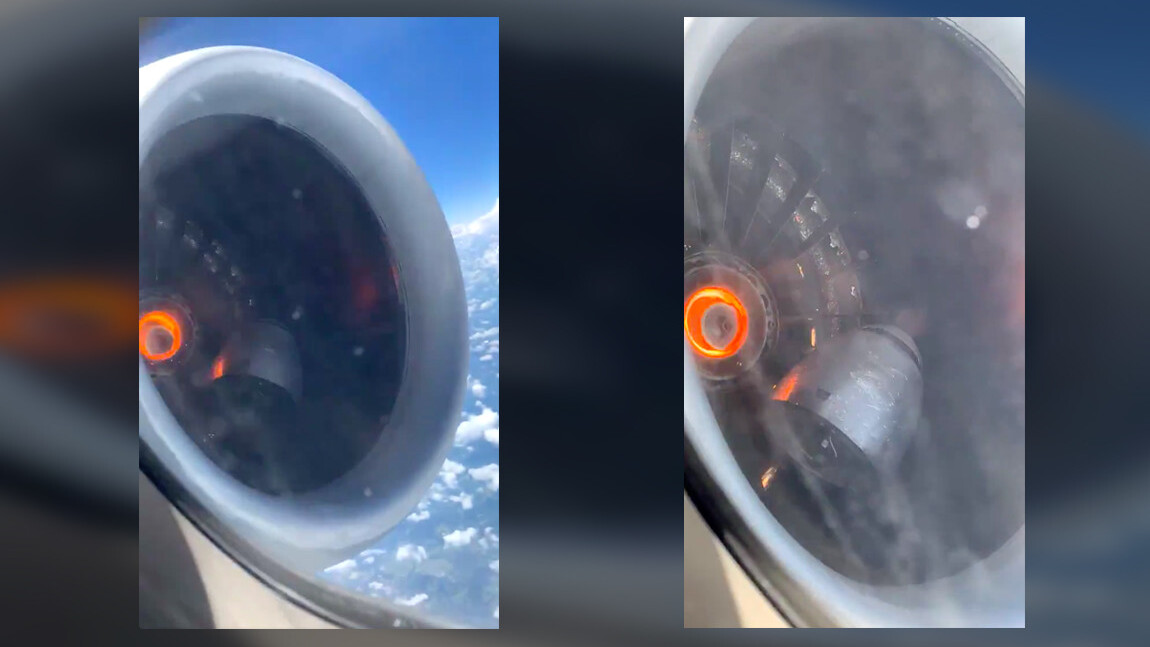 Scary video shows Delta plane engine malfunction before emergency landing