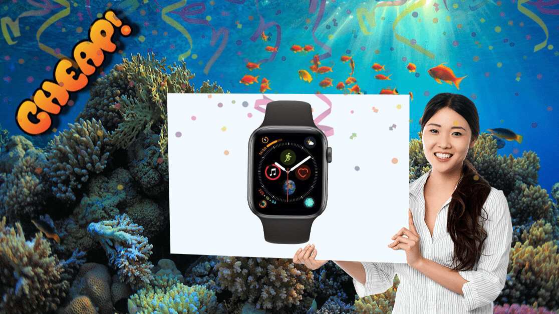 CHEAP: What? A 44mm Apple Watch 4 for $379? Don't mind if I do