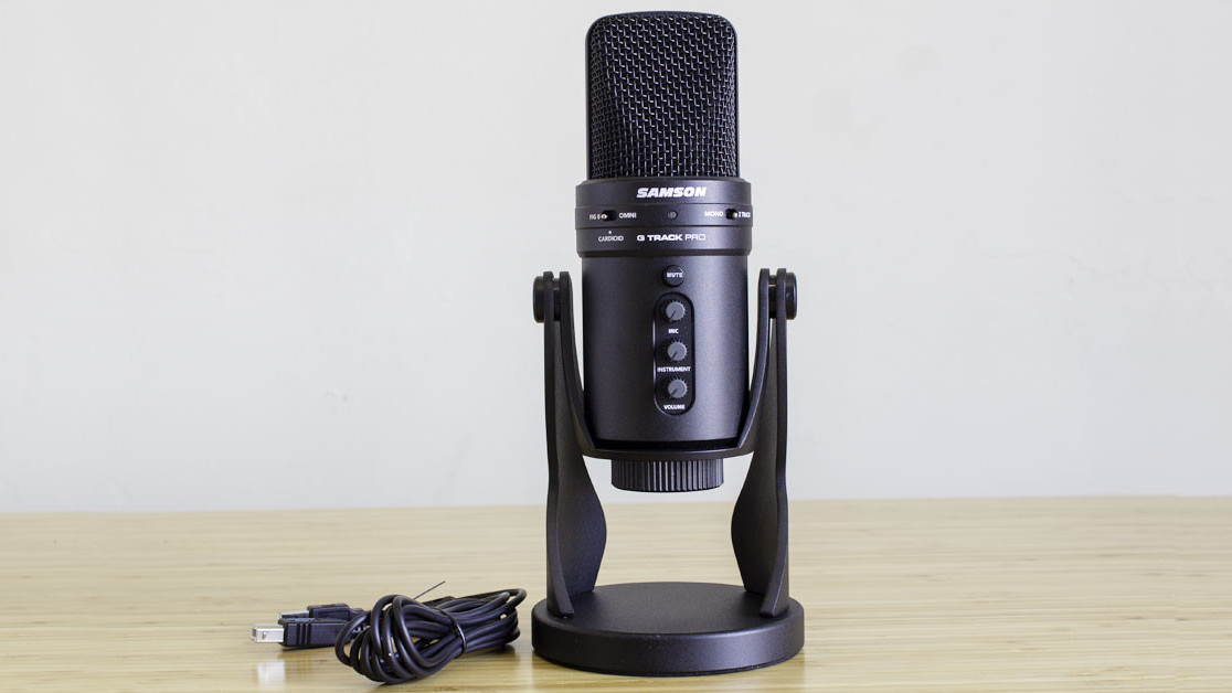 Review: Samson's G-Track Pro is the ultimate microphone for podcasts and game streaming